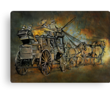 Back to the Past.......... Canvas Print
