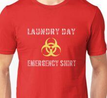 Funny Laundry Day Emergency Bio-hazard Shirt Unisex T-Shirt
