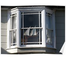 Sea View Window Poster