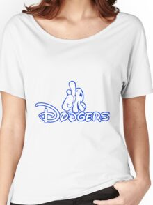 los angeles dodgers logo Women's Relaxed Fit T-Shirt