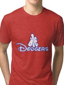 los angeles dodgers logo Tri-blend T-Shirt