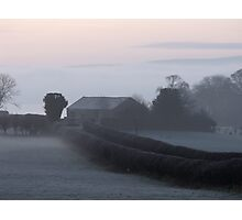 Misty Morn Photographic Print