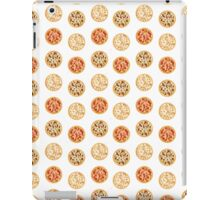 Three Pizza Pattern  iPad Case/Skin