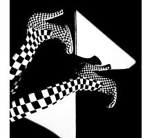 BLACK OR WHITE Photographic Print