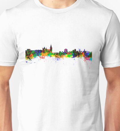 Dublin City Skyline Silhouette Unisex T-Shirt