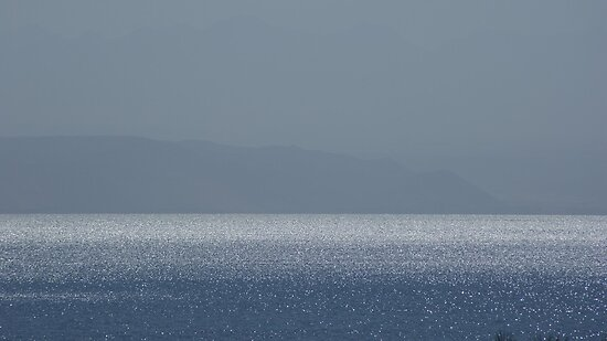 Across the red sea to Jordan. by Lee Van Hallam