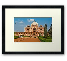 Humayun's Tomb UNESCO World Heritage Site Framed Print