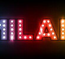 Milan in Lights by Michael Tompsett