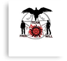 Team Free Will :) Canvas Print
