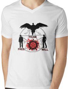 Team Free Will :) Mens V-Neck T-Shirt