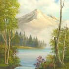 Misty Mountain Splendor by Vivian Eagleson