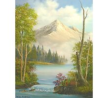 Misty Mountain Splendor Photographic Print