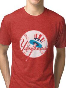 new york yankees logo Tri-blend T-Shirt