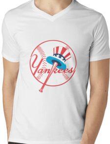 new york yankees logo Mens V-Neck T-Shirt