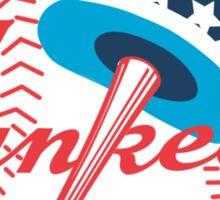 new york yankees logo Sticker