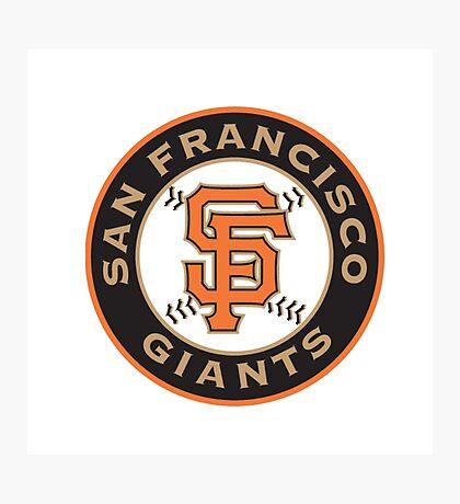 san francisco giants logo Photographic Print