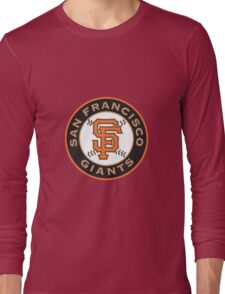 san francisco giants logo Long Sleeve T-Shirt