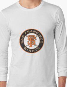 san francisco giants logo Long Sleeve T-Shirt