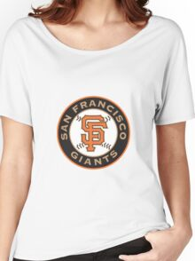 san francisco giants logo Women's Relaxed Fit T-Shirt