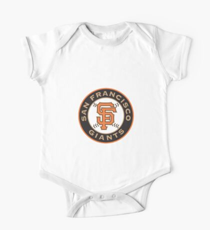 san francisco giants logo One Piece - Short Sleeve