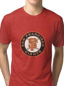 san francisco giants logo Tri-blend T-Shirt