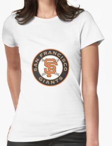 san francisco giants logo Womens Fitted T-Shirt