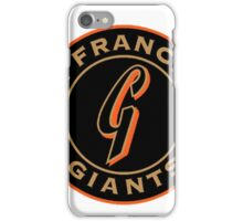 san francisco giants logo 1 iPhone Case/Skin