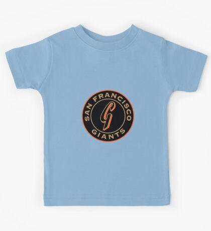 san francisco giants logo 1 Kids Tee