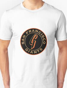 san francisco giants logo 1 T-Shirt