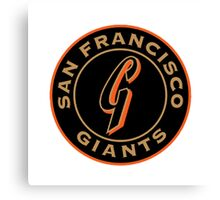 san francisco giants logo 1 Canvas Print