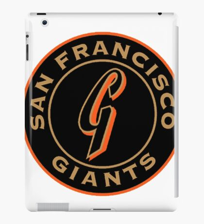 san francisco giants logo 1 iPad Case/Skin
