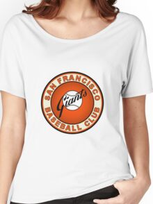 san francisco giants logo 2 Women's Relaxed Fit T-Shirt