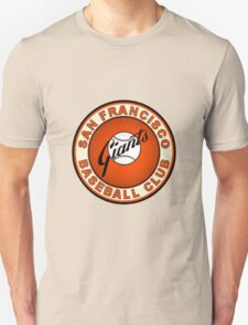 san francisco giants logo 2 Unisex T-Shirt
