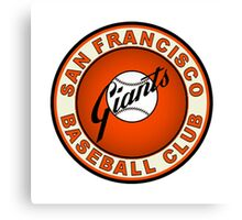 san francisco giants logo 2 Canvas Print