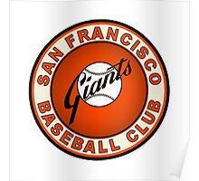 san francisco giants logo 2 Poster