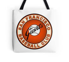 san francisco giants logo 2 Tote Bag