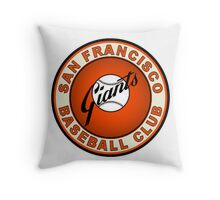 san francisco giants logo 2 Throw Pillow