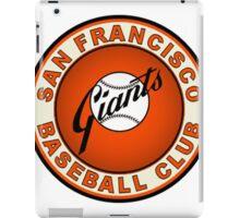 san francisco giants logo 2 iPad Case/Skin