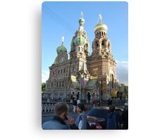 The Church of Our Savior on the Spilled Blood Canvas Print
