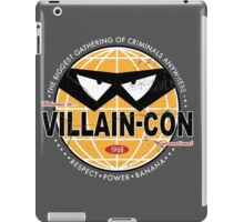 Villain Con iPad Case/Skin