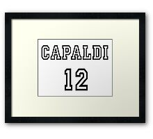 Doctor Who - Capaldi 12 Framed Print