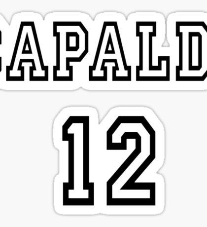 Doctor Who - Capaldi 12 Sticker