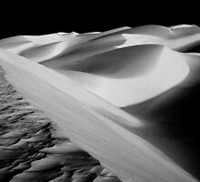 Southern California sand dunes at sunrise by ©  Paul W. Faust