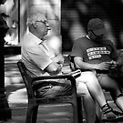 peoplescapes #261, morning cigar by stickelsimages