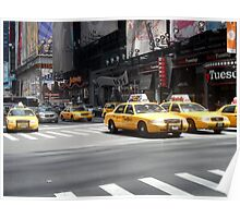7th Avenue, New York City Poster