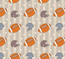 American Football pattern by mrhighsky