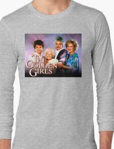 The Golden Girls TV Show Title Long Sleeve T-Shirt