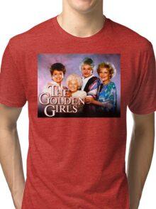 The Golden Girls TV Show Title Tri-blend T-Shirt