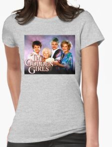 The Golden Girls TV Show Title Womens Fitted T-Shirt