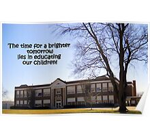 Our Future is With Our Children Poster